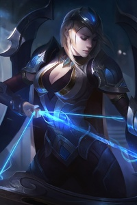 Ashe League Of Legends Warrior