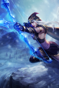 Ashe Legue Of Legends 4k