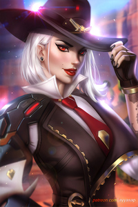 Ashe Overwatch Game