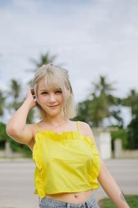Asian Model Outdoors