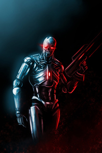 Assassin Machine From Terminator Series 4k