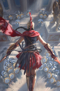 480x800 Assassins Creed Art