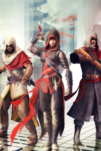 320x480 Assassins Creed Chronicles Trilogy 4k