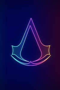 Assassins Creed Neo Logo 4k