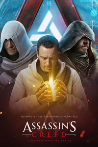 640x960 Assassins Creed Netflix Series 4k
