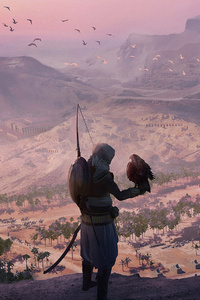 Assassins Creed Origins Game Artwork