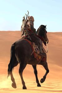 Assassins Creed Origins Sand Horse 4k
