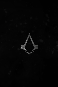 240x320 Assassins Creed Syndicate Logo Dark 4k