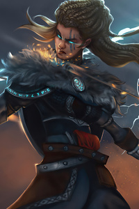 750x1334 Assassins Creed Valhalla Artwork