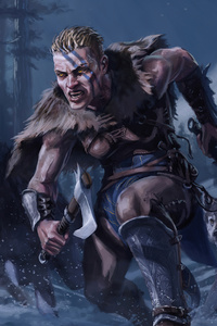 Assassins Creed Valhalla Game 4k 2020 Artwork