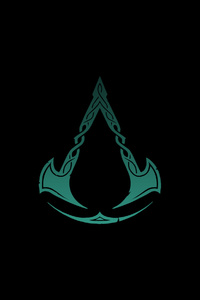 360x640 Assassins Creed Valhalla Logo