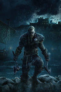 Assassins Creed Valhalla Poster 2021 4k