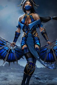 1242x2688 Assassins Fantasy Girl