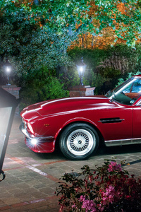 Aston Martin Retro Car