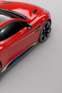Aston Martin Vanquish S Red Arrows Edition Rear