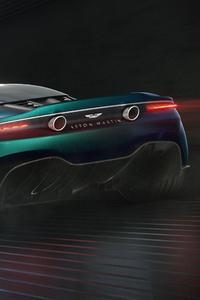 Aston Martin Vanquish Vision Concept 2019 Rear
