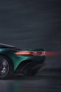 Aston Martin Vanquish Vision Concept 2019 Rear View