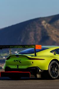 Aston Martin Vantage Back 4k