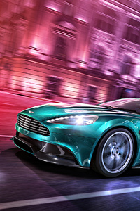1440x2960 AstonMartin Vanquish 4k