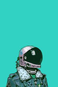 800x1280 Astronaut Comic Art 4k