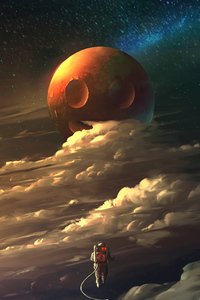 Astronaut Cosmos 4k