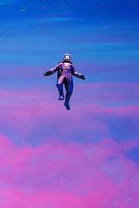 1080x1920 Astronaut Falling 4k