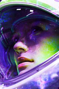 Astronaut Girl 4k