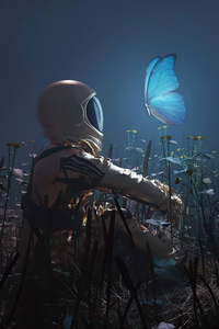 Astronaut Hope 4k
