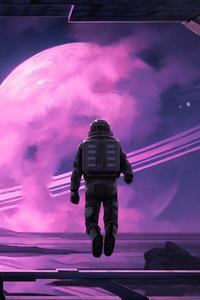 Astronaut Looking Away
