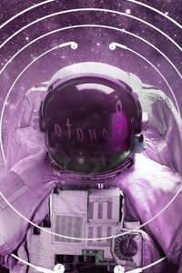 Astronaut Music Fever 4k