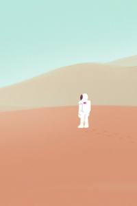 800x1280 Astronaut Otherwordly 5k