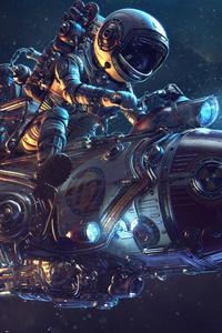 Astronaut Rocket Science Fiction 4k