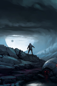 Astronaut Science Fiction Space Digital Art