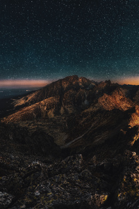 Astronomy Mountains