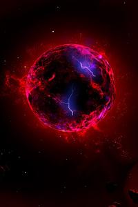 320x480 Astronomy Planet 4k