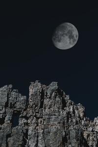 Astronomy Rocks Mountains 4k