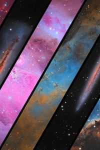 Astrophotos Space Abstract
