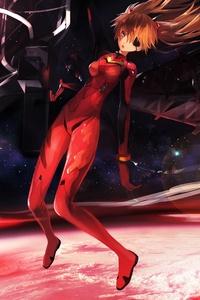 720x1280 Asuka Evangelion 5k