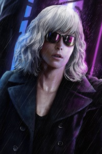 Atomic Blonde Charlize Theron 4k Artwork