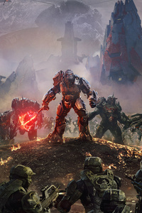 320x480 Atriox Battlefield Halo Wars 2