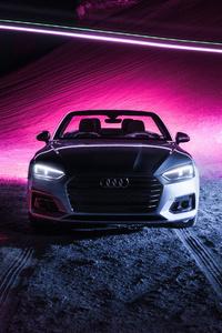 360x640 Audi A5 Cabriolet 4k