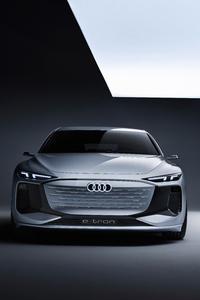 480x800 Audi A6 E Tron Concept 2021 8k