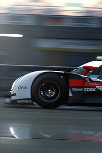Audi E Tron F1 Car