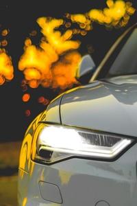 Audi Lights 4k