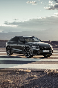 Audi Q8 55 TFSI Quattro S Line 2018 Front