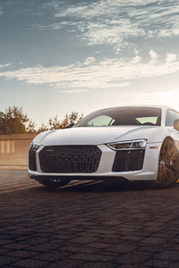 Audi R8 4k 2020