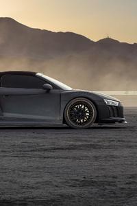 540x960 Audi R8 Dry Lake 5k