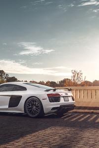 1080x2160 Audi R8 Rear 2020