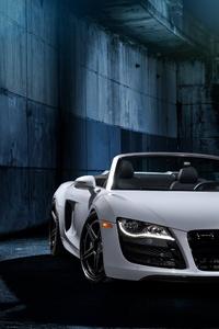 1080x2160 Audi R8 RFX7 Brushed Titanium