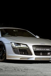 Audi R8 Silver
